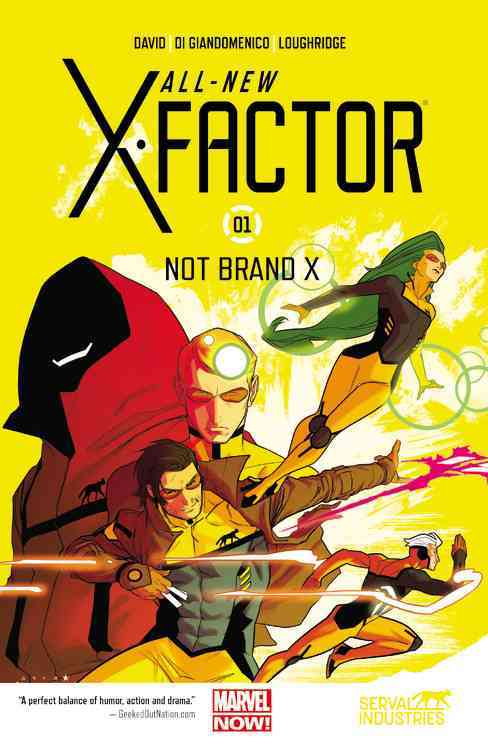 All-New X-Factor 1 By Marvel Comics Group (COR)
